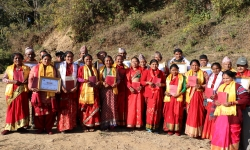 14 HHs of Dhading received Joint Land Ownership Certificate