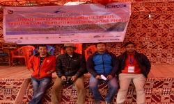 "SAHAS participation in Rara National Conference ""Climate Change and Environmental Threats: Protecting Lives and Livelihoods of Mountain People"""