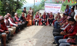 Formal Handover of 49 Safer houses in Thumi, Gorkha